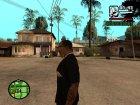 """Футболка с знаком зодиака """"Стрелец"""". для GTA San Andreas вид слева"""