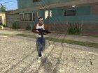 Маска Майкла GTA V для GTA San Andreas вид слева