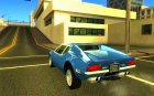 1971 De Tomaso Pantera for GTA San Andreas rear-left view