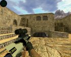 AUG  Закрученный for Counter-Strike 1.6 left view