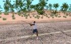 Katana HD для GTA San Andreas вид сзади слева