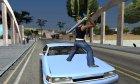 Biggoron Sword from Zelda для GTA San Andreas вид сверху
