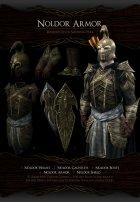Noldor Content Pack - Нолдорское снаряжение 1.02 для TES V Skyrim вид сзади