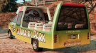 Jurassic Park Tour Bus V1.1 for GTA 5 left view