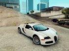 Bugatti Veyron 2009 for GTA San Andreas rear-left view