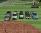 Пак машин by Pahan123 для GTA San Andreas вид изнутри