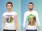 ElfQuest Tops Set for Sims 4 left view