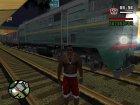 Пак Российских поездов для GTA San Andreas вид сзади слева