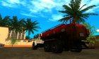 Урал NEXT NEO Бензовоз для GTA San Andreas вид сверху