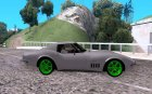Chevrolet Corvette Stingray Monster Energy для GTA San Andreas вид сверху