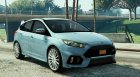 Ford Focus RS 1.0 для GTA 5 вид сверху