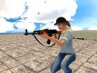 AK-47 с ремешком for GTA San Andreas side view