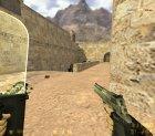 Новые текстуры гранат и прозрачный тактический щит для Counter-Strike 1.6 вид сзади слева
