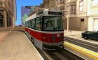 Canadian Light Rail для GTA San Andreas вид слева