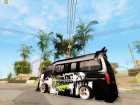 Nissan Urvan NV350 Monster Energy для GTA San Andreas вид сбоку