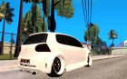VW Golf 5 GTI Tuning for GTA San Andreas top view