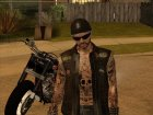 Biker from GTA Online v3 для GTA San Andreas вид слева