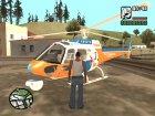 Пак воздушного вертолетного транспорта для GTA San Andreas вид сзади слева