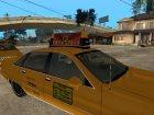 1992 Chevrolet Caprice Taxi for GTA San Andreas back view