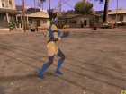 Голос Китаны из Mortal Kombat и женские анимации для GTA San Andreas вид сверху
