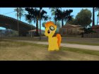 Spitfire (My Little Pony) для GTA San Andreas вид слева