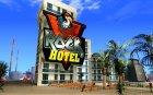 Новые текстуры для отеля V-Rock для GTA San Andreas вид сзади слева