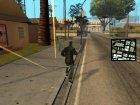 Gangsta Homeless для GTA San Andreas вид сзади слева