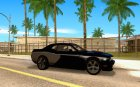 Dodge Challenger Fast Five for GTA San Andreas inside view