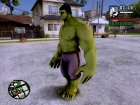Hulk Avengers Age of Ultron для GTA San Andreas вид слева