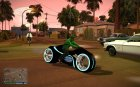 TRON Legacy Bike v2 with CLEO Summon для GTA San Andreas вид слева