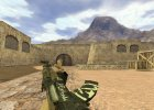 AK-47 Wasteland Rebel для Counter-Strike 1.6 вид слева