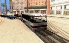 Веселый трамвайчик для GTA San Andreas вид сверху