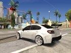 Subaru WRX STi 15 для GTA San Andreas вид изнутри