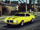 1969 Pontiac Firebird Trans Am Coupe (2337) for GTA San Andreas