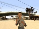 Sarah (The Last of Us) для GTA San Andreas вид сзади слева