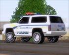 Police Ranger Metropolitan Police for GTA San Andreas rear-left view
