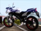 Yamaha Vixion Advance Lominous White для GTA San Andreas вид сзади слева