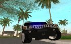 HUMMER  H2  FBI for GTA San Andreas left view