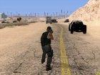Военная Анимация для GTA San Andreas вид справа