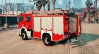Scania P360 - Firetruck Swiss - GE SIS for GTA 5 left view