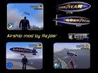 """Дирижабль """"Goodyear"""" для GTA 3 вид изнутри"""