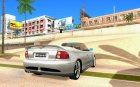 HSV GTS Cabrio for GTA San Andreas top view