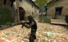 Woodland camo urban для Counter-Strike Source вид сверху