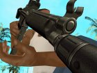 Black MP5 для GTA San Andreas вид сзади слева