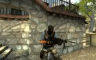 M249 underworld for Counter-Strike Source top view