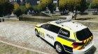 Volkswagen Passat - Norwegian Police Edition 2012 for GTA 4 rear-left view