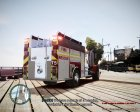 Новая пожарная машина для GTA 4 вид сверху