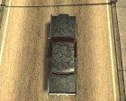 Новая покрасочная работа для Remington для GTA San Andreas вид сверху