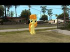 Carrot Top (My Little Pony) for GTA San Andreas rear-left view