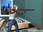 Оружие из Max Payne для GTA San Andreas вид сзади